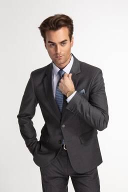 f0db40f0b2179 Pearl Suit - garnitur w kolorze szarym (jasny popiel)